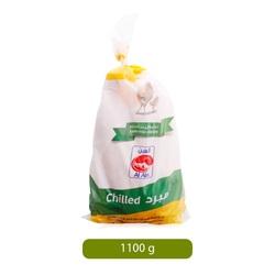 Al Ain Fresh Whole Chilled Chicken, 1100 grams