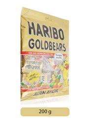 Haribo Mini Gold Bears Maxi Bag Jelly Candy, 200g