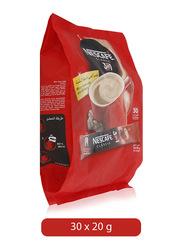 Nescafe 3-in-1 Instant Coffee Mix Sachet, 30 Sachets x 20g