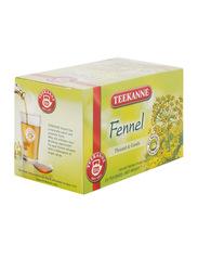 Teekanne Fennel Herbal Infusion Tea, 20 Tea Bags x 2g