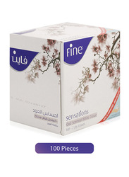 Fine Sensations Oud White Tissues, 1 Roll x 100 Sheet x 2 Ply