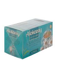 Alokozay Chamomile Herbal Tea Bags, 25 Tea Bags x 1.2g