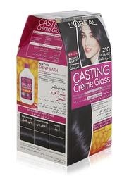 L'Oreal Paris Casting Cream Gloss Hair Color, 210 Blue Black, 72ml