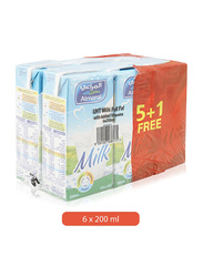 Al Marai UHT Full Fat Milk, 6 x 200ml