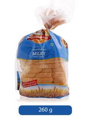 Al Jadeed Milky Sliced Bread, Small, 260g