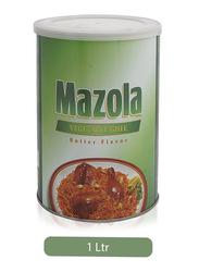 Mazola Butter Flavor Vegetable Ghee, 1 Liters