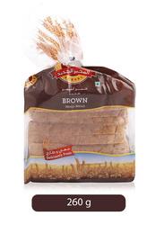 Al Jadeed Brown Bread, Small, 260g