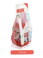 Nuk Trinklernflasche Baby Feeding Learner Bottle 150ml, Minnie, Pink