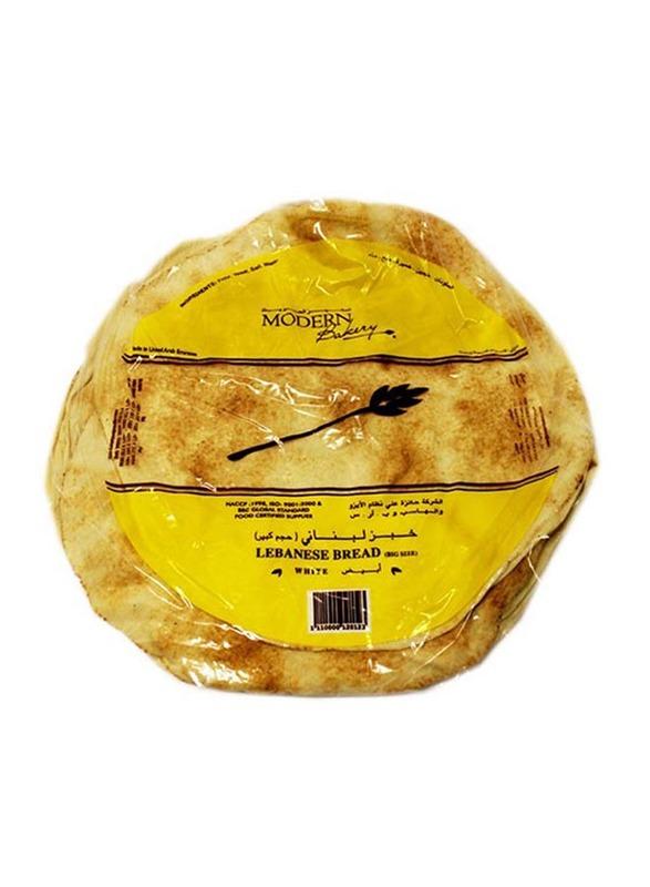 Modern Bakery Lebanese Flat White Arabic Bread, Big Size