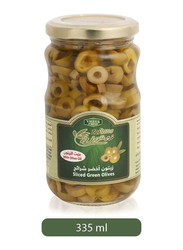 Viliage Fresh Zaituna Sliced Green Olives, 335ml