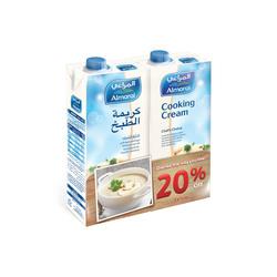 Almarai Cooking Cream, 2 x 1 Liters