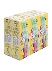 Nada Banana Flavor Long Life Milk, 6 x 200ml