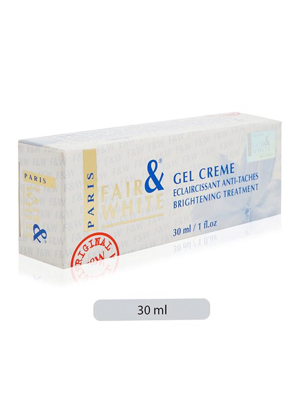 Fair & White Brightening Treatment Gel Creme, 30ml