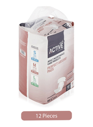 Active Hygiene Adult Incontinence Perfect Absorb Pads, Medium, 12 Pieces