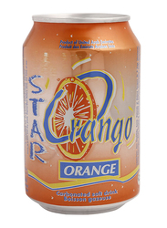 Star Orange Carbonated Soft Drink, 250ml
