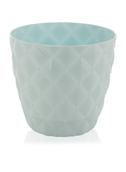 Elif 100gm Plastic Kapitone Pot, KOD437, Aqua