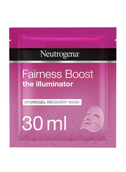 Neutrogena Fairness Boost Hydrogel Recovery Face Mask, 30ml