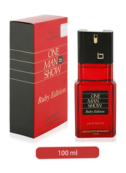 One Man Show Jacques Bogart Ruby Edition 100ml EDT for Men