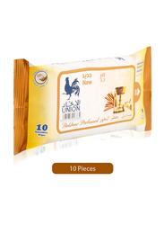 Union Bakhoor Perfumed Wipes, 10 Sheets