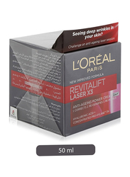 L'Oreal Paris Revitalift Day X3 Laser Day Cream, 50ml