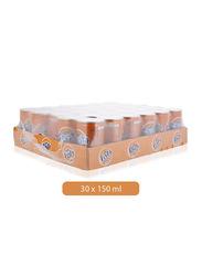 Fanta Orange Soft Drink, 30 Cans x 150ml