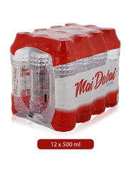 Mai Dubai Low Sodium Mineral Water, 12 Bottles x 500ml