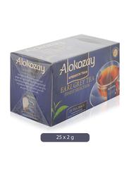 Alokozay Heat Seal Sachets Earlgrey Tea, 25 Tea Bags x 2g