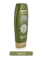 Garnier Ultra Doux Mythic Olive Conditioner for All Hair Types, 400ml