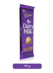 Cadbury Dairy Milk Hazelnut Chocolate Bar, 90g