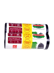 Our Choice Heavy Duty Biodegradable Garbage Bags, 90 x 110cm x 2 Pieces, 40 Bags x 60 Gallons