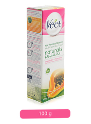 Veet Normal to Dry Skin Natural Hair Removal Cream, 100gm