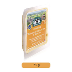Wensleydale Creamery Yorkshire Wensleydale & Apricots Cheese, 150 g