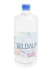 Wildalp Natural Spring Water for Babies, 1 Liter