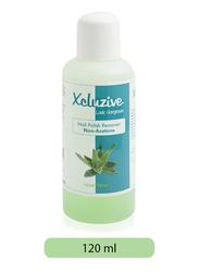 Xclusive Aloe Vera Nail Polish Remover, 120ml, Green