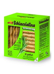 La Mole Schiacciatine Rosemary Bread, 150g