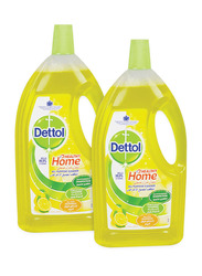 Dettol Healthy Home Multi Action Cleaner 2 Bottles x 1.8 Liters