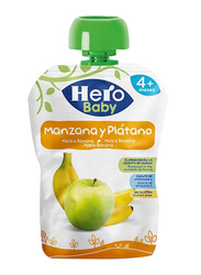 Hero Baby Apple & Banana Juice Pouch, 100g