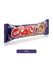 Solen Crazy Extra Milk Chocolate Bar, 24 x 30g