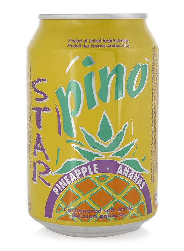 Star Pineapple Carbonated Soft Drink Can, 300ml