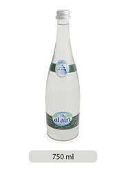 Al Ain Sparkling Water Glass Bottle, 750ml