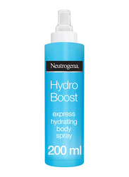 Neutrogena Hydro Boost Body Spray, Express Hydrating, Normal Skin, 200ml