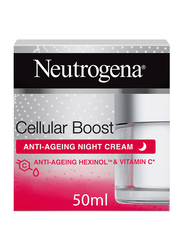 Neutrogena Cellular Boost Anti-Ageing Night Face Cream, 50ml