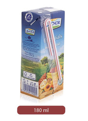 Lacnor Essentials Fruit Cocktail Juice Drink, 180ml