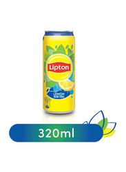 Lipton Lemon Non-Carbonated Ice Tea Drink Can, 320ml