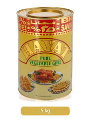 Hayat Hydro Pure Vegetable Ghee Tin, 5 Kg