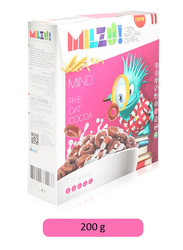 Milzu Ray Mind Cocoa Rings Cereal, 200g