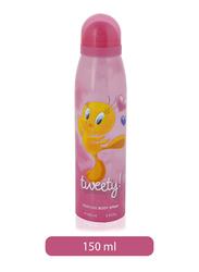 Sterling Tweety 150ml Prefume Body Spray for Kids