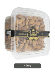 Just Gourmet Plain Almonds, 1 Piece x 440g
