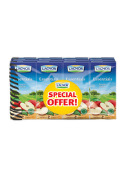 Lacnor Essentials Apple Fruit Juice Drink, 12 x 180ml
