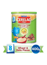 Nestle Cerelac Wheat & Date Pieces Milk Infant Cereal, 8 Months +, 400g